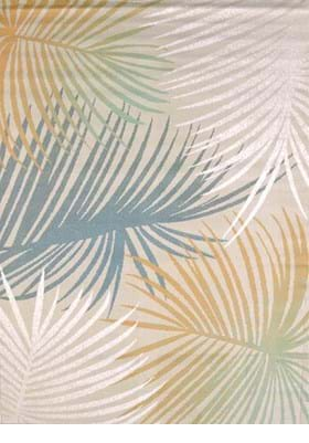 United Weavers 541-50260 Palm Leaves Blue