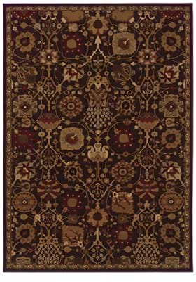 Oriental Weavers 4520N Purple Multi