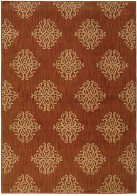 Oriental Weavers 3835 Orange Beige