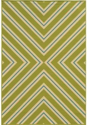 Oriental Weavers 4589M Green Ivory