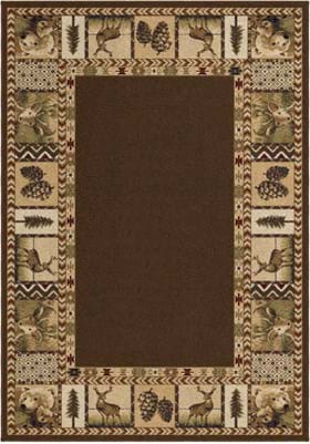 Orian Rugs High Country 2612 Sienna