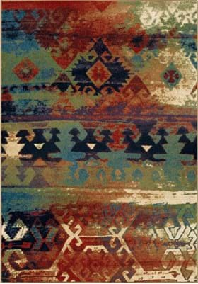 Orian Rugs Elk River 3801 Multi