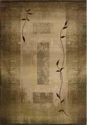 Oriental Weavers 544G1 Green Beige