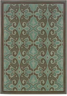 Oriental Weavers 2335L Blue Brown