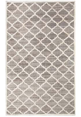 Dynamic Rugs 5967 190 Ivory Black