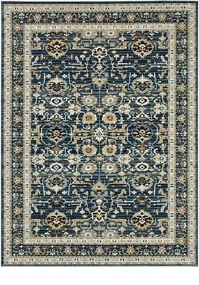 Karastan Amphora 92118 Majolica Blue 50150