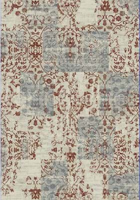 Dynamic Rugs 25010 130 Ivory Red