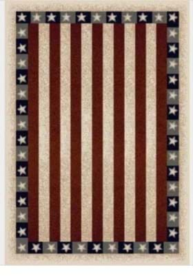 Milliken Stars and Stripes 4952 Opal 2000