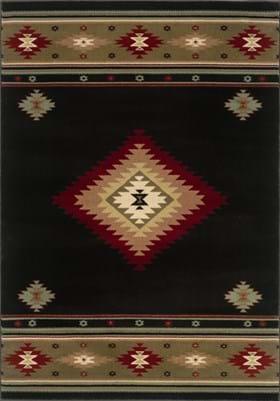 Oriental Weavers 087G1 Brown