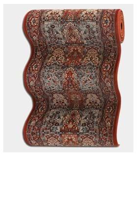 Couristan 4325 Vintage Baktiari 0300A Burgundy