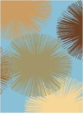 Rugs America Fireworks 2279 Light Blue