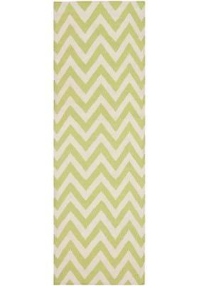 Safavieh DHU557A Green Ivory