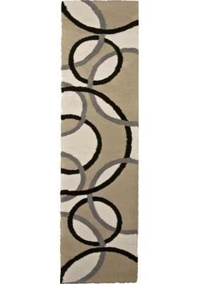 Orian Rugs Magic Rings 2422 Beige