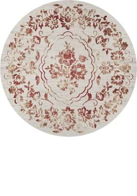 KAS Flora 7060 Ivory Red