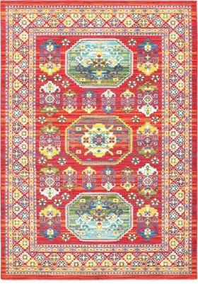 Oriental Weavers 3R Red Multi
