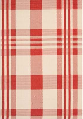 Safavieh CY6201-238 Red Beige