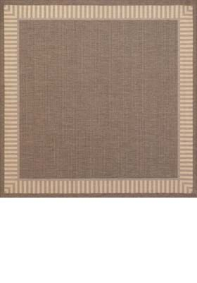 Couristan 1681 Wicker Stitch 1500 Cocoa Natural
