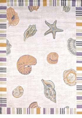 United Weavers 541-50717 Sand and Shells Natural