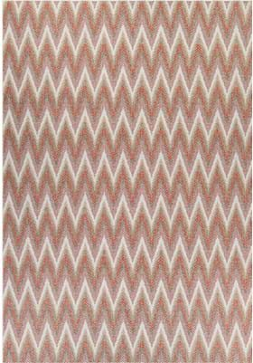 Couristan 6046 Avila 3151 Coral Ivory Pewter