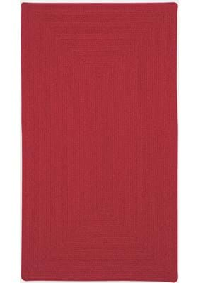 Capel Manteo Dark Red Concentric Rectangle