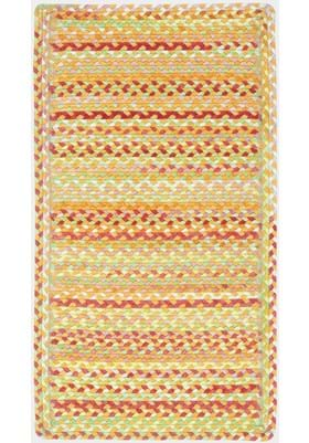 Capel High Tea Cinnamon Cross Sewn Rectangle
