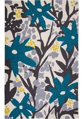 MAT Bloom Grey Turquoise