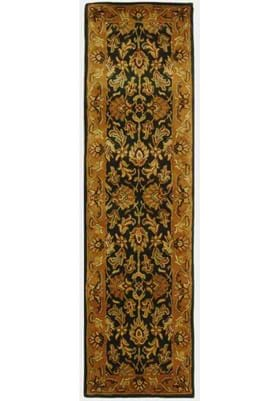 Safavieh CL228A Dark Green Gold