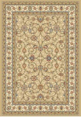 Dynamic Rugs 57120 2464 Light Gold Ivory