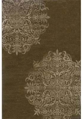 Oriental Weavers 4174D Brown Stone