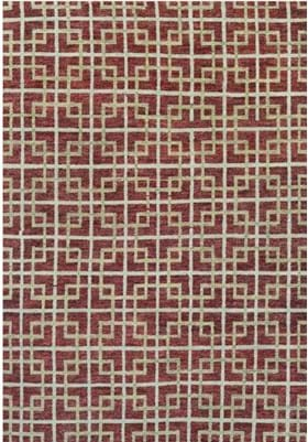 Couristan 3988 Galaxy 4000 Burgundy Ivory