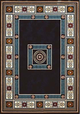 United Weavers Oriental Border 1900-010 64 Navy