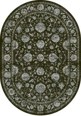 Dynamic Rugs 57126 3636 Charcoal Silver