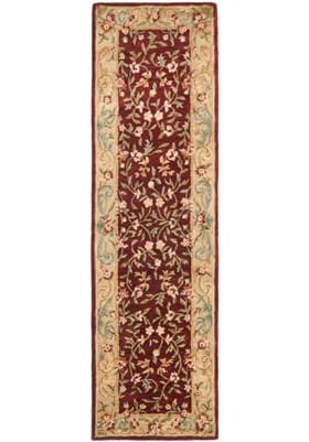 Safavieh BRG164A Red Dark Beige