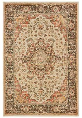Oriental Weavers 9551 A Ivory Orange