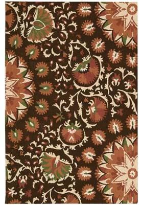 Nourison SUZ-02 Brown