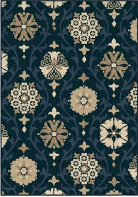 Orian Rugs Chico 1845 Blue
