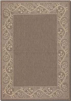 Couristan 0157 Tuscana 0022 Brown Cream