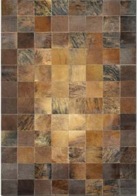 Couristan 0348 Tile 1579 Brown