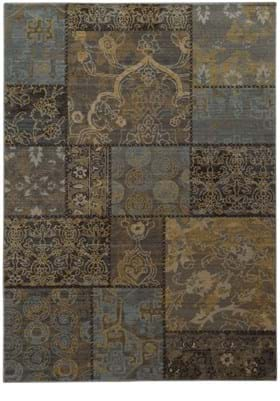 Oriental Weavers 1336H Charcoal Blue