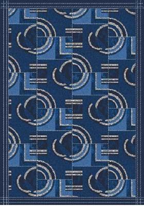 Milliken Modernes 7430 Phantom Blue 621