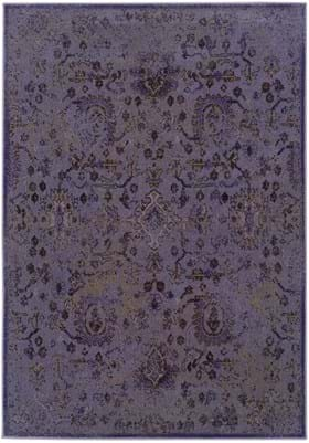 Oriental Weavers 3692C Purple Black