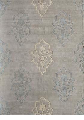 Rugs America 4830C Silver Crown