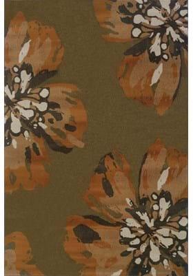 Oriental Weavers 4130C Brown Orange