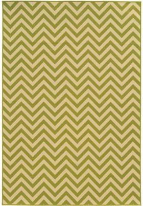 Oriental Weavers 4593K Green Ivory
