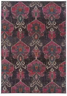 Oriental Weavers 1140V Charcoal