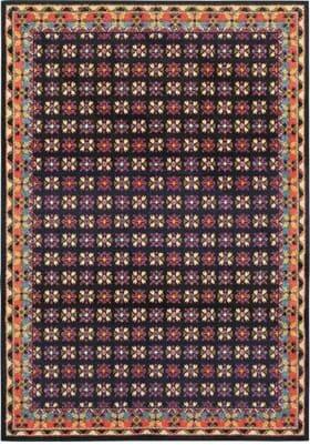 Oriental Weavers 760N Navy Pink