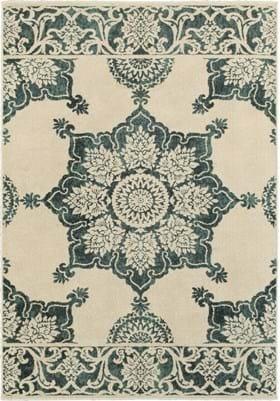 Oriental Weavers 7416A Ivory Blue