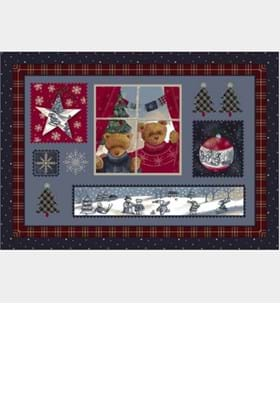 Milliken Holiday Rugs 4533 Christmas Cuddles 18