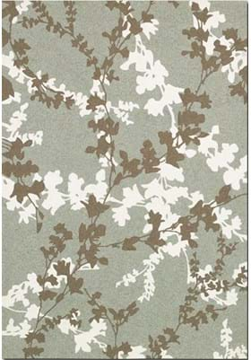 Couristan 2397 Willow Branch 0015 Sage Ivory