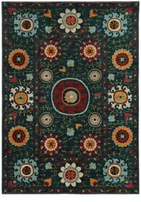 Oriental Weavers 6408B Blue Multi